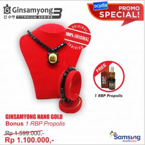 Ginsamyong Nano Gold BONUS RBP Propolis