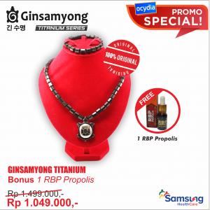 Ginsamyong Titanium BONUS RBP Propolis